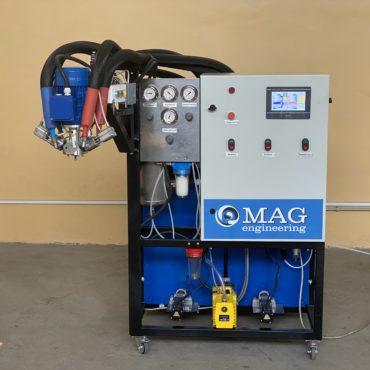 Смесительно-дозирующая машина MAG MDI