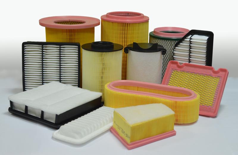 Линия по производству панельного фильтра